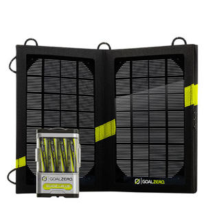 But Its Free - Guide 10 Plus Solar Recharging Kit