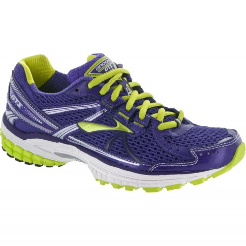 But Its Free - Brooks Adrenaline GTS 13 Women's Deep Wisteria/Lime Punch/Silver/White