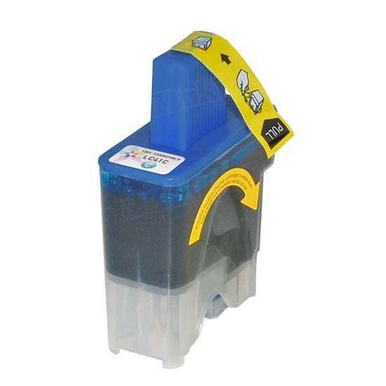 But Its Free - Compatible Brother LC41C Cyan Ink Cartridge