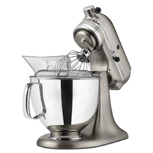 But Its Free - Custom Metallic® Series 5-Quart Tilt-Head Stand Mixer