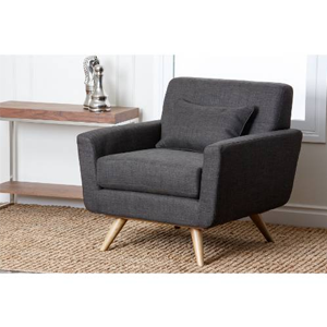 But Its Free - Abbyson Living Boise Tufted Fabric Armchair