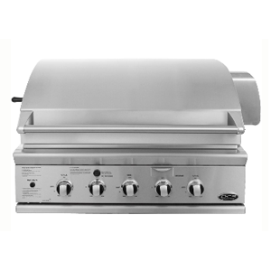 But Its Free - DCS 36 Inch Natural Gas Grill BGB36BQARN Built In