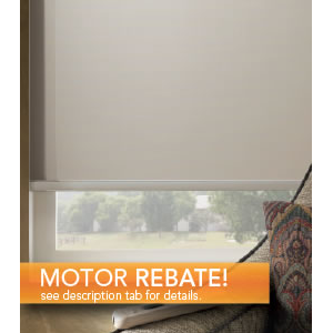 But Its Free - Motorized Solar Shades