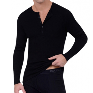 But Its Free - 2xist Essential Long Sleeve Henley