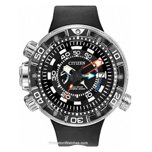 But Its Free - Citizen Mens Eco-Drive Promaster Aqualand Depth Meter - Reinforced Band