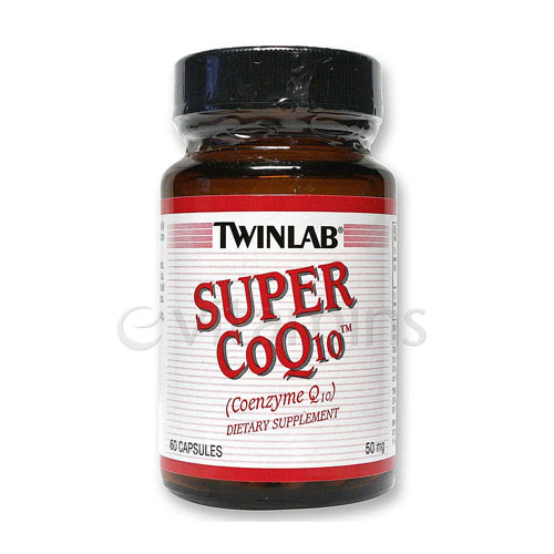 But Its Free - Twinlab Super CoQ10 50 mg