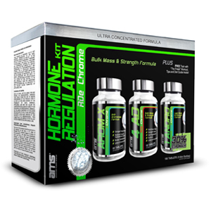But Its Free - Advanced Muscle Science Hormone Regulation Kit RDe Chrome, 3 Bottles
