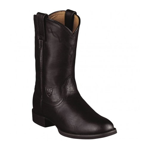 But Its Free - 10000794 Ariat Women's Heritage Western Ropers - Black