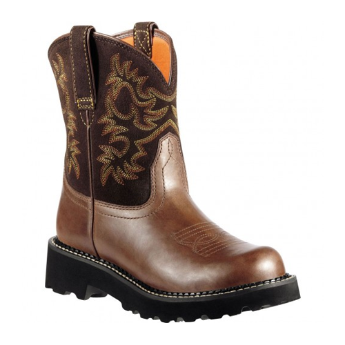 But Its Free - 10000824 Ariat Women's Fatbaby Western Boots - Brownie