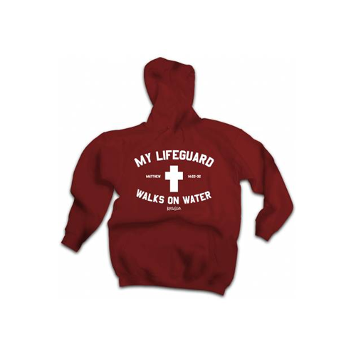 But Its Free - Lifeguard Adult Hooded Sweatshirt