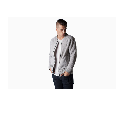 But Its Free -  Wolf & Man - Quinn 2 Jacket (Grey) BY Wolf & Man