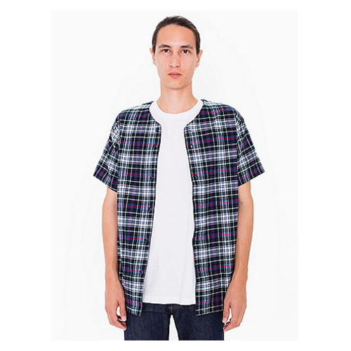 But Its Free - Flannel Baseball Jersey
