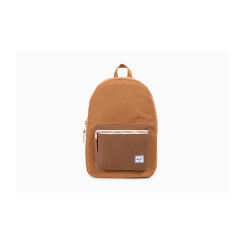 But Its Free -  Settlement Caramel Coated Cotton Canvas Backpack (Caramel) BY Herschel Supply Co.