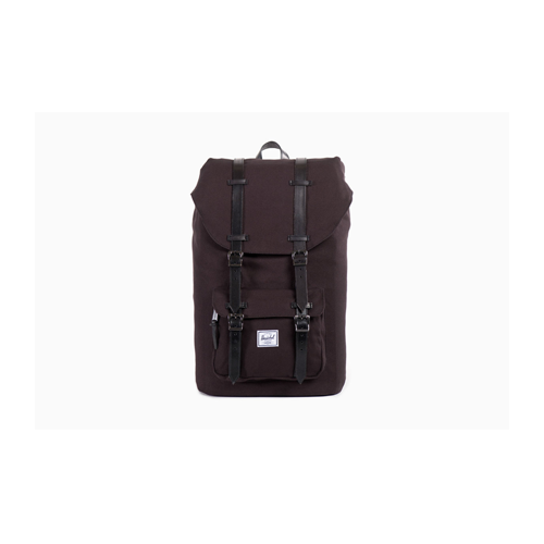 But Its Free -  Little America Cotton Canvas Backpack (Black) BY Herschel Supply Co.