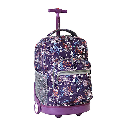 But Its Free - J World New York Sunrise Rolling Backpack