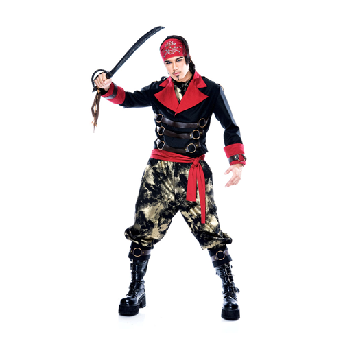 But Its Free - ADULT APOCALYPSE PIRATE COSTUME