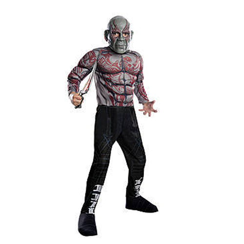 But Its Free - Drax The Destroyer Child's Deluxe Costume