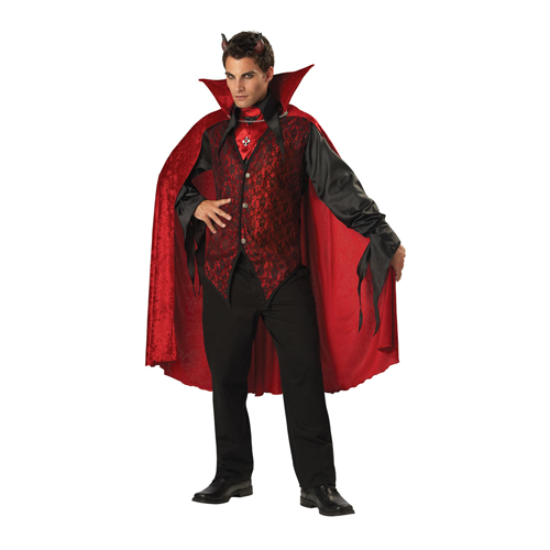But Its Free - DELUXE SINISTER DEVIL COSTUME
