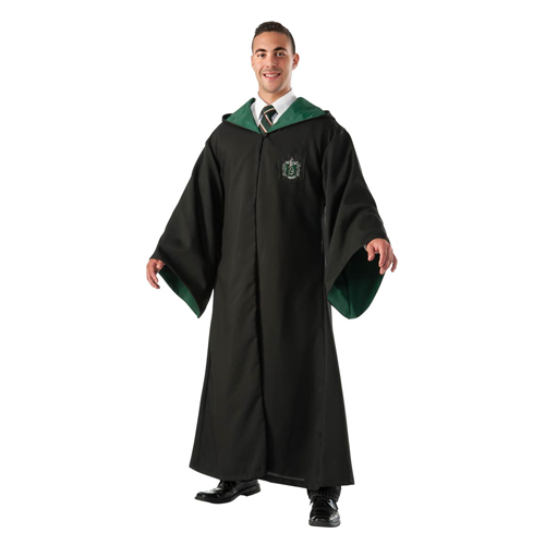 But Its Free - ADULT REPLICA SLYTHERIN ROBE COSTUME