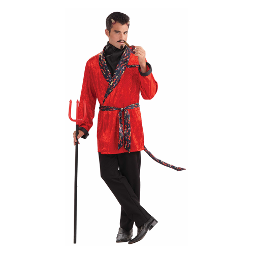 But Its Free - ADULT DEVIL SMOKING HALLOWEEN COSTUME