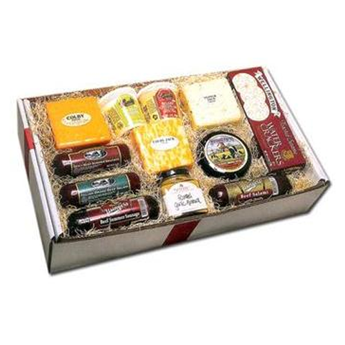 But Its Free - Deluxe Wisconsin Cheese and Sausage Gift Box