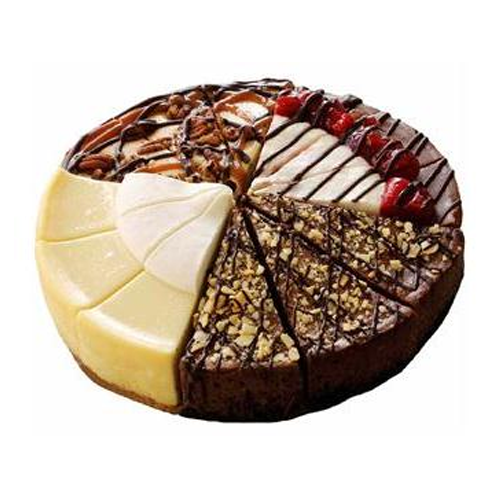 But Its Free - Suzy's Four Flavor Cheesecake Sampler