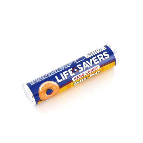 But Its Free - Life Savers - Butter Rum - 1 roll