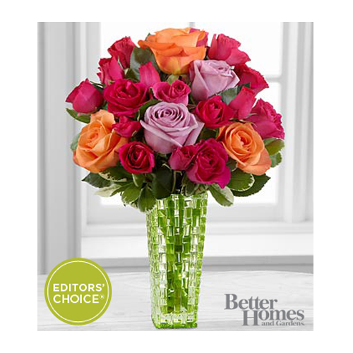 But Its Free - FTD Sun Sweetness Rose Bouquet by Better Homes and Gardens