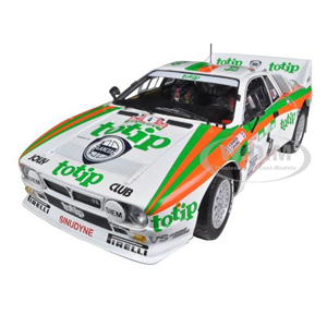 But Its Free - Lancia 037 #4 Rally Portugal 1985 Totip 1/18 Diecast Model Car by Kyosho
