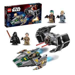 But Its Free - LEGO Star Wars 75150 Vader's TIE Advanced vs. A-Wing Starfighter - Free Shipping