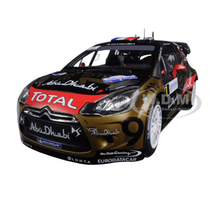 But Its Free - 2013 Citroen DS3 #168 Rally France Loeb/Elena 1/18 Diecast Model Car by Norevc