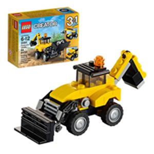 But Its Free - LEGO Creator 31041 Construction Vehicles
