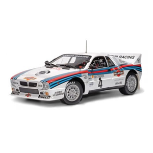 But Its Free - Lancia 037 #4 Rally Monte Carlo 1985 Martini 1/18 Diecast Car Model by Kyosho