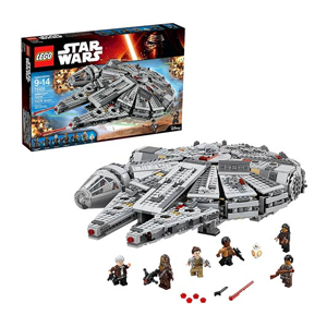 But Its Free - LEGO Star Wars 75105 Millennium Falcon - Free Shipping