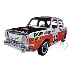But Its Free - Simca 1000 #34 Rally Monte Carlo 1973 Florentino 1/18 Diecast Model Car by Norev