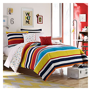 But Its Free - Teen Vogue Dots and Dashes Comforter Set