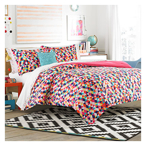 But Its Free - Teen Vogue Kaleidoscope Comforter Set