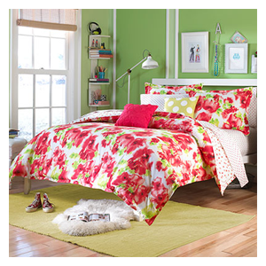 But Its Free - Teen Vogue Painted Poppy Comforter Set