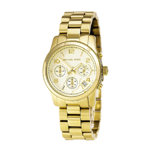 But Its Free - Michael Kors MK5055 Women's Gold Runway Watch