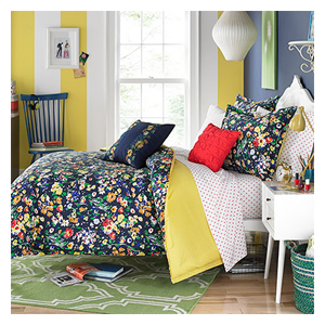 But Its Free - Teen Vogue Folksy Floral Comforter Set