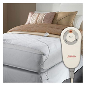But Its Free - Sunbeam Comfy Toes Heated Foot Warming Mattress Pad Twin / Full Queen / King