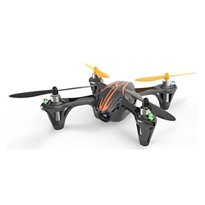 But Its Free - Hubsan X4 4 Channel 2.4GHz RC Quad Copter with Camera - Black/Orange includes one extra battery and one extra wing