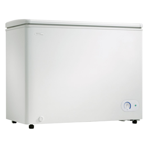 But Its Free - Danby 8.1 Cu.Ft. Chest Freezer, 1 Basket, Up Front Temperature Control - White, DCF081A1WDD