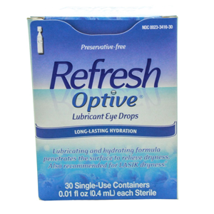 But Its Free - Refresh Optive Preservative-Free Eye Drops (30 ct.)
