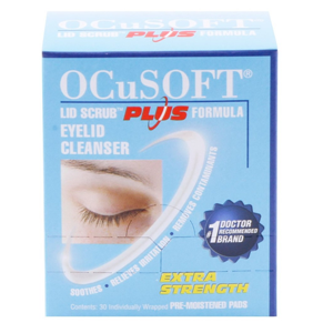 But Its Free - Ocusoft Lid Scrub Plus Formula Eyelid Cleanser (30 Pads)
