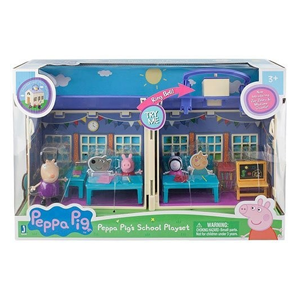 But Its Free - Peppa Pig - Peppa Deluxe School House with 3 Exclusive Figures