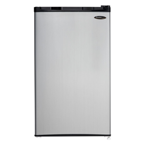 But Its Free - Danby 3.2 CuFt. Refrig,Push Button Defrost,Separate Freeze Section - Black/Stainless, DCR032C1BSLDD