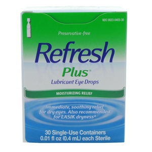 But Its Free - Refresh Plus Eye Drops (30 ct.)