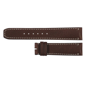 But Its Free - Baume et Mercier Capeland 20mm Brown Leather Strap MX006W4N