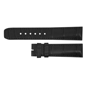 But Its Free - Baume et Mercier Classima Executive 20mm Black Alligator Strap MX002R2C